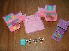 Littlest Pet Shop Teeniest Tiniest Teensies Mini Tiny House Case Pink Playset