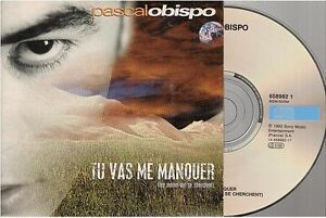 PASCAL OBISPO tu vas me manquer CD SINGLE