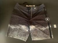 """Hurley Mens Boardshorts Phantom 19""""Stretch - Size 32"""