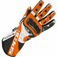 Spada Predator 2 Leather Sports Motorcycle Motorbike Sports Gloves