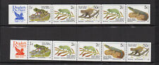faune RSA Afrique du Sud South Africa 1996 2 bandes 10 timbres neufs /FDCa148