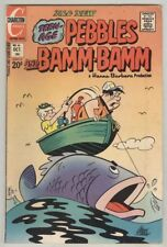 Pebbles and Bamm-Bamm #16 October 1973 VG Fishing cover
