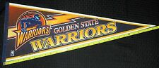 """VINTAGE NBA BASKETBALL LICENSED GOLDEN STATE WARRIORS PENNANT NEW COND!! 12X29"""""""