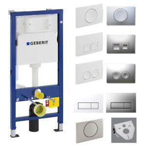 Geberit Duofix Spülkasten Delta Vorwandelement BH 112 cm mit Bausatz für Wand-WC