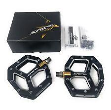 ALL NEW Shimano SAINT PD-M828 Platform SPD Flat Pedals MTB Off Road Bike Black
