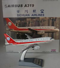 Aviation 200 AV2001 Airbus A319-133 Sichuan Airlines  B-6419 in 1:200 Scale
