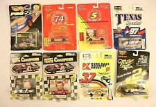 Die Cast 1:64 Nascar lot of 8 VTG Racing Champions Revell Miller Texas Wallace