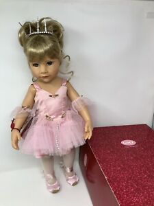 Gotz Doll Pink Ballerina Swarovski 281 Of 300