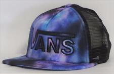 Vans Off The Wall Drop V Womens Cosmic Galaxy Snapback Trucker Hat NEW NWT