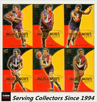 2004 Select AFL Ovation Indigenous Players Card Fremantle Team set (6)