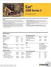 Equipment Brochure - Caterpillar - 246C - Skid Steer Loader - 2008 (E1747)