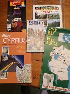 Vintage World Tourist Maps X 34
