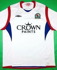 Umbro BLACKBURN ROVERS 2009 10 XL Away Soccer Jersey Football Shirt BRFC  Trikot c6445bb93