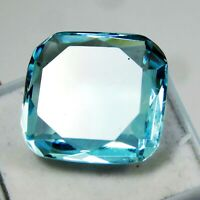 IGI CERTIFIED Always Natural Amazing Blue Aquamarine Rare Loose Gemstone 23 Ct