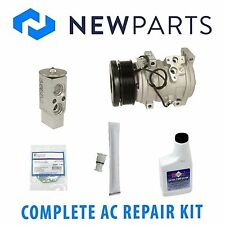 Fits Toyota Tundra 07-13 V8 Complete A/C Repair Kit With NEW Compressor & Clutch