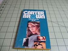 NEGATIVE IN BLUE BY CARTER BROWN   PULP  HARDBOILED CRIME PB