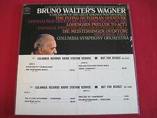 RARE CLASSICAL PROMO LP BOX SET - BRUNO WALTER'S WAGNER - COLUMBIA M2L 343