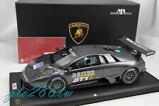 MR 1:18 Lamborghini Murcielago LP670 R-SV Team Reiter FIA GT1 2010(LE 167pcs)
