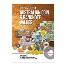 Australia 2019 Coin & Banknote Values Softcover Renniks Catalogue 29th Edition