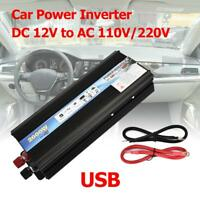Car 4000W Power Inverter DC 12V to AC 220V Sine Wave Converter Power Invertor