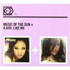 RIHANNA - 2 FOR 1: MUSIC OF THE SUN/A GIRL LIKE ME; 2 CD  27 TRACKS POP  NEW+
