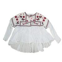 Amandara BNWT Women's Boho White Jacket Size large / xlarge