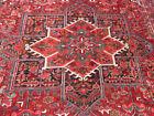 10'x12' Fine Handmade wool Authentic Unique Serapi Herizz Oriental area rug