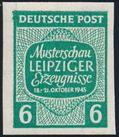 SBZ, MiNr. 124 X U, tadellos postfrisch, Befund Schulz, Mi. 150,-