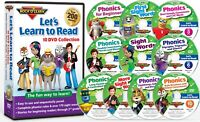 Let's Learn to Read 10 DVD Collection by Rock 'N Learn