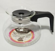 Vintage BUNN Glass Drip Coffee Pot Replacement Decanter-8 Cup Easy Pour NEW