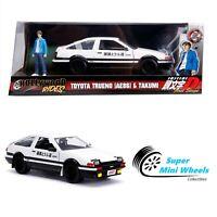Jada 1:24 Hollywood Rides - Initial D 1986 Toyota Trueno AE86 & Takumi
