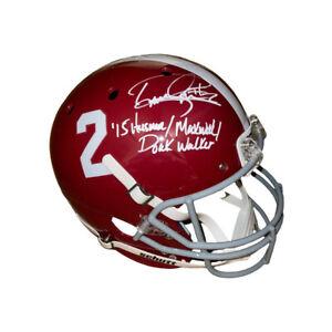 Derrick Henry signed Alabama Crimson Tide #2 Schutt FS Rep Helmet w/ 3 insc- BAS