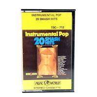Vintage 1978 Instrumental Pop Smash Hits Music Cassette Tape