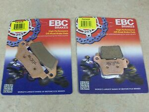 NEW EBC FRONT + REAR BRAKE PADS KTM 125 150 SX XC 200 250 EXC 300 MX 350 400 450