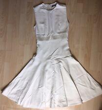 Alexander McQueen Ivory Cream Flare Sleeveless Dress FR 38 UK 10 US 4-6 £1895