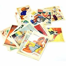 Lot of 32 Mixed Vintage Postcards Retro Advertising Movie Travel Post Cards UK