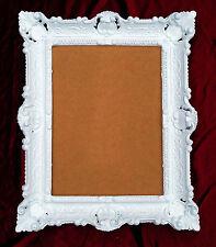 Marco Barroco Imagen De Fotos cuadros rectangular ANTIGUO Blanco 30x40