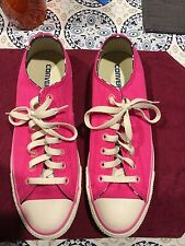 """Converse Chuck Taylor All Star Canvas Classic Pink with Stars inside """"I DO"""""""
