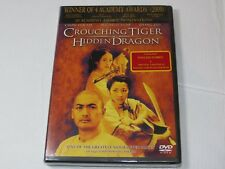 Crouching Tiger, Hidden Dragon Dvd 2001 Pg-13 Chow Yun Fat Michelle Yeoh Zhang Z