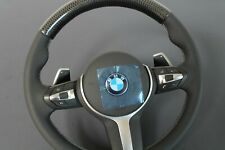 BMW  F23 F32 F36 F45 X1 X4 X5 X6 M Sport Lenkrad MuFu Carbon Leder perforiert