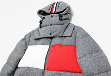 NWT Italy TOMMY HILFIGER RUNWAY FLAG Patchwork Hooded...