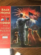 Back Home Jigsaw Puzzle 1000 Puzzle merica us army tom wood collectible