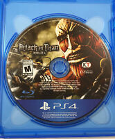Attack on Titan (Sony PlayStation 4 / PS4, 2016) Fast Free Shipping