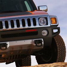 Hummer H3 Front Bumper Red Letters Insert