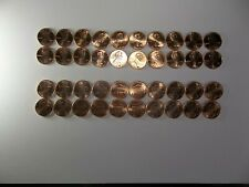 2010-2019 (2) Sets Of 20 - P&D Lincoln Shield Cents -Total 40 Coins