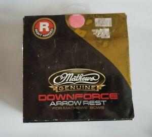 Mathews Downforce RH Drop Away Arrow Rest Down Force Archery Z7 Halon Vertix VXR