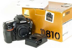 Nikon D810 Digital SLR Camera Body - Shutter Count 143,534