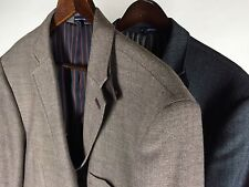 NWOT Stafford Essentials Sport Coat 48R Slim Fit 3BTN Double Vents  LOT Of 2