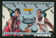 19-20 Certified Panini Basketball Hobby Box FACTORY SEALED Zion Morant Auto ?!