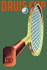 "20x30"" CANVAS Decor.Room design art print..Davis Cup tennis racquetball.6092"